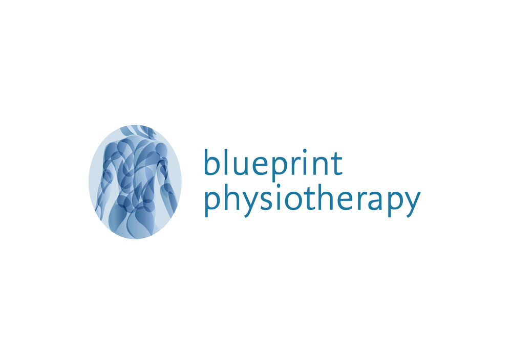 blueprint-physiotherapy logo design girling design