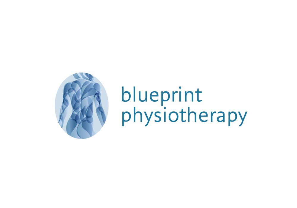 blueprint physiotherapy logo girling design