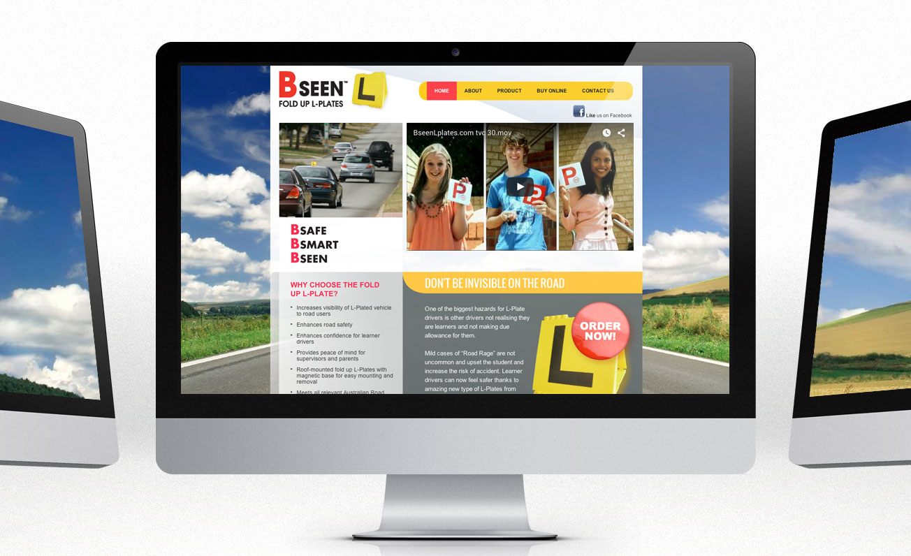 bseen-lplates web design girling design