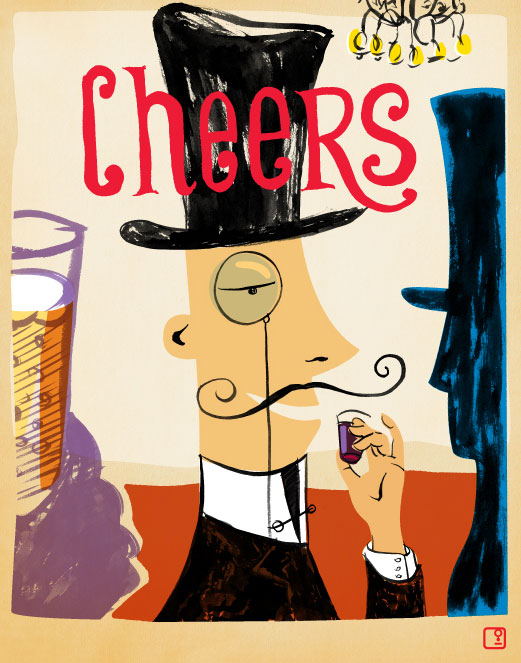 cheers artist nicholas girling