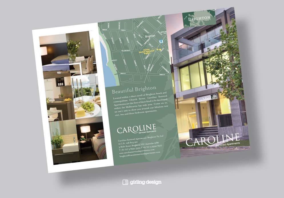 Architecture Design Brochure 4 page brochure design - girling design studios