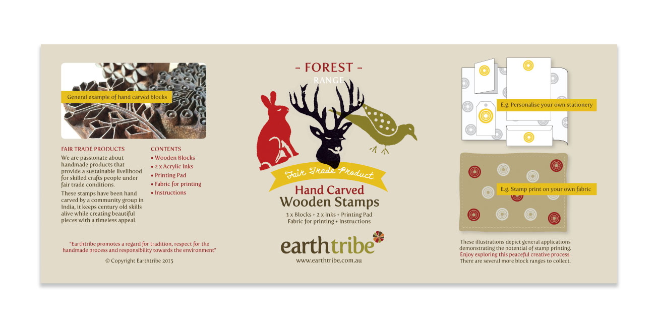 earthtribe product-label packaging girling design