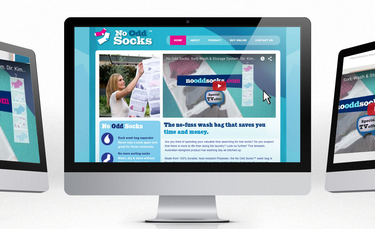 nooddsocks website girling design