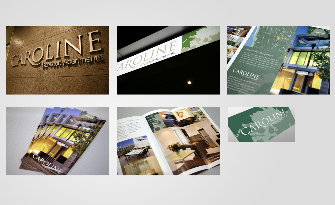 corporate branding and retail signage
